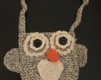 Little Girls Owl Purse