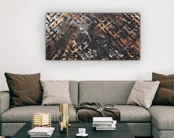 BlackWood Acrylic Painting
