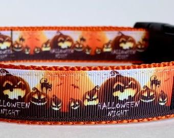 2009bae9 Halloween dog collar | Etsy