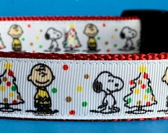 Favorite Dog Christmas Dog Collar