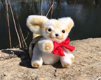 Baby Fennec / Steppe Fox / Little Fox / Fennec Fox / Fox toy / Fennec toy / Plush toy