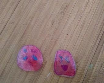 Two random kawaii mini charms