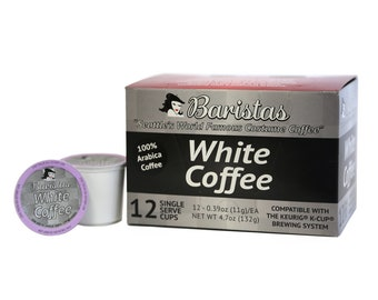 White coffee, double caffeine, Coffee, baristas,individual coffee servings