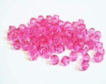 Swarovski Rose Diamond 0.3 mm beads