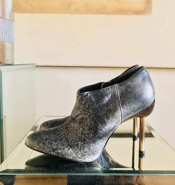 Gianni Versace Vintage Ankle Booties - image 1