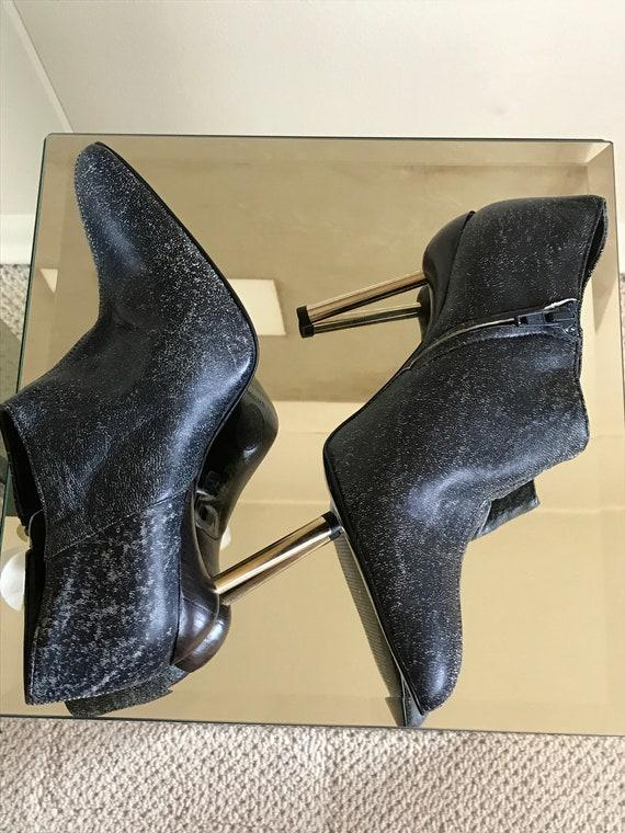 Gianni Versace Vintage Ankle Booties - image 3