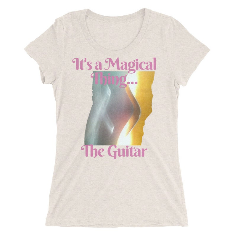 MAGICAL THING ... The GUITAR ... Ladies' short sleeve image 0
