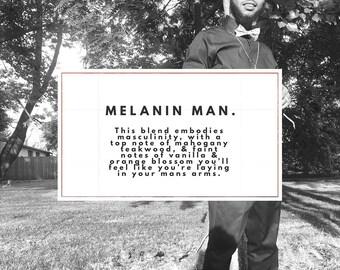 Melanin Man Soy Candle