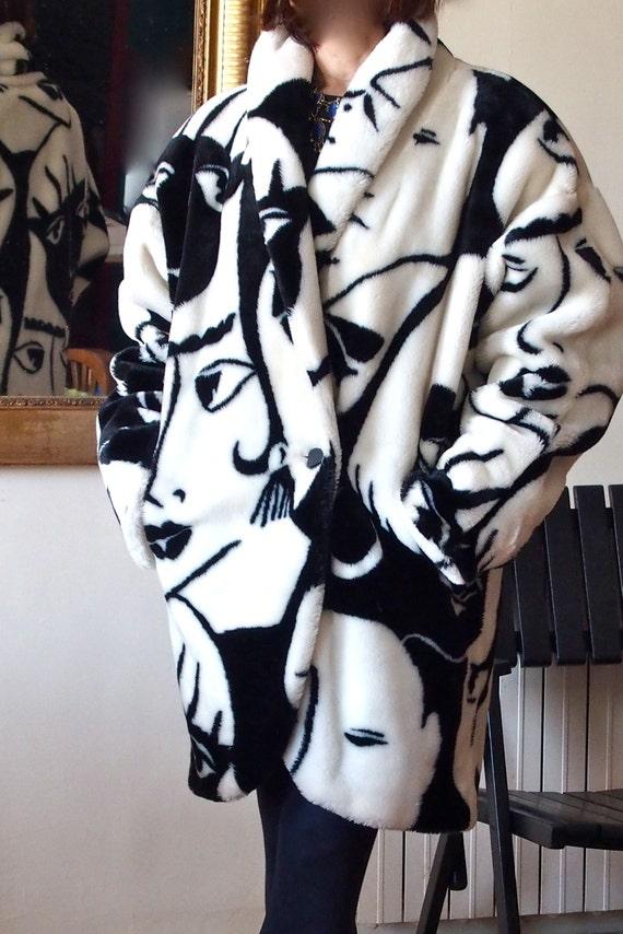 "Collector DONNYBROOK, amazing coat ""Rihanna"" vinta"