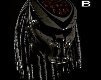Casque De Moto Predator predator helmet | etsy