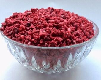 Freeze Dried Raspberry Pieces 1~6 mm