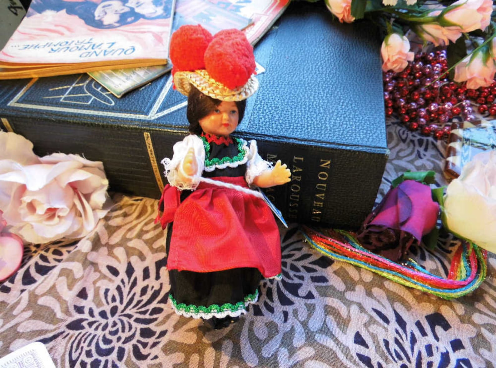 Vintage German Costume Doll fromthe Black Forest, Germany