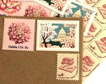 Spring Awakening Postage Suite (set of 3) // Wedding Postage