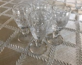 Set of 4 Waterford Colleen Cordial glasses