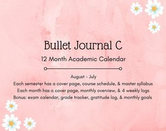Bullet Journal C