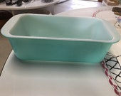 Vintage Pyrex Turquoise 1 1 2 Quart Loaf Pan-Wonderful Collectible For Any Kitchen-Great Gift