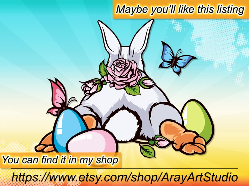 Rabbit Bunny SVG Cut File Easter svg Silhouette Pretty Rabbit Face svg Rabbit in a hole circle Clipart Cute Easter Cut Files ai vector #171