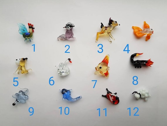 Miniature Glass Animal