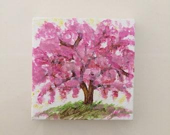 Cherry Blossum Tiny Art