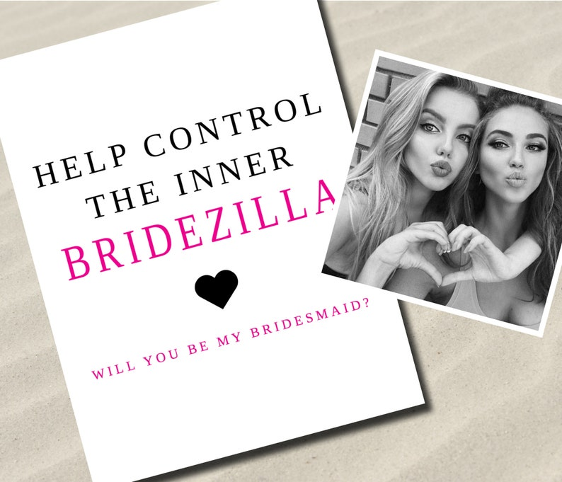 Will you be my bridesmaid Maid of Honor Proposal Wedding Funny Bridesmaid Proposal Custom Bridesmaid Proposal Cards Digital Download