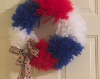 Independence Day - Tulle Wreath