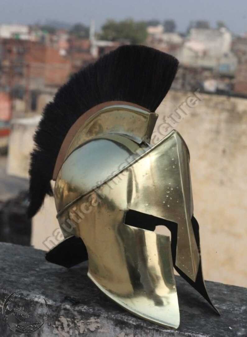 Other Militaria 100% Quality New Gladiator Maximus Medieval Armor Helmets 300 Movie Spartan W/ Stand Collectibles