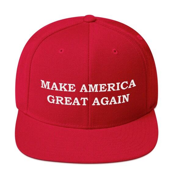 MAGA Hat Snap Back Trump Hat Maga Letters Cap maga Hat MAGA | Etsy