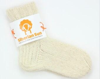 New Handmade 100/% Wool Socks Outdoors Fishing Hiking Hunting Men/'s Size 11-13