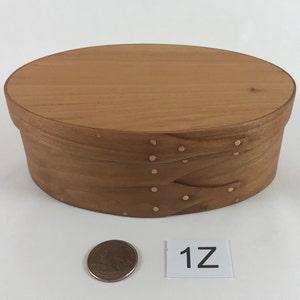 1 Shaker Oval Box No