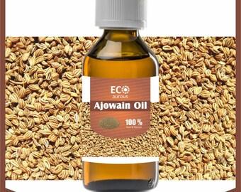 Eco Aurous ajwain oil pure & natural essential oil|| ajowan oil | Ajowan essential oil | aromatherapy oils | ajwain essential oil|