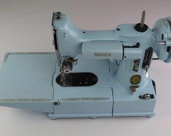 singer featherweight etsy rh etsy com Singer Featherweight 222 Sewing Machine Singer Featherweight 222K Motor