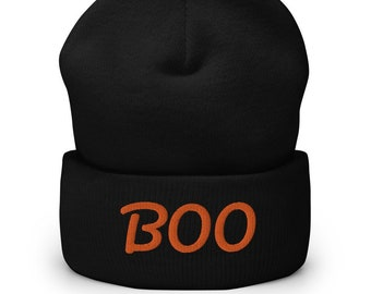 Boo Cuffed Beanie - available in 6 colors