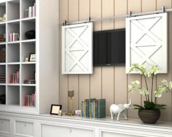 Nice Barn Door Hardware For Cabinets Gallery
