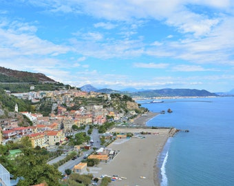 Vietri Views - Travel Art Print -Italian Coast Print - Fine Art Photography