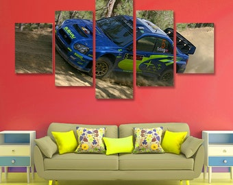 Subaru Impreza WRX Poster set Subaru Wall Art Subaru Canvas Art Wall Decor 5 pieces set Birthday Gift Home Decoration kids room bedroom & Subaru canvas | Etsy