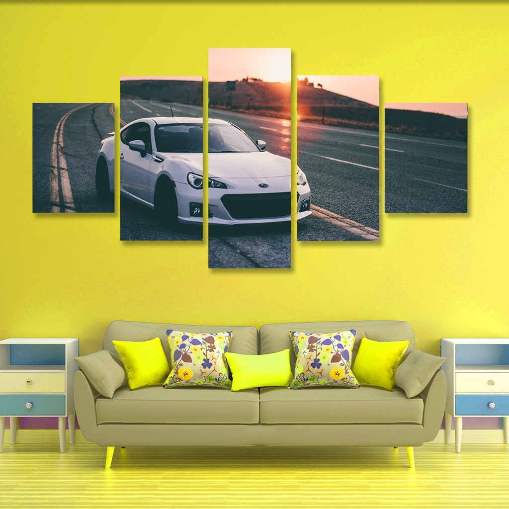 Subaru BRZ Poster set Subaru Wall Art Subaru Canvas Art Wall | Etsy
