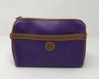 6651bb02b 1980s purple Liz Claiborne crossbody