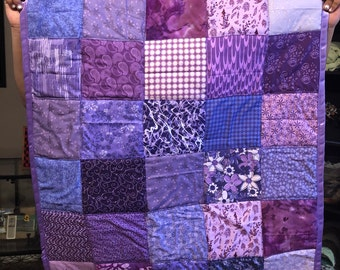 Homemade Brand New Baby Quilt