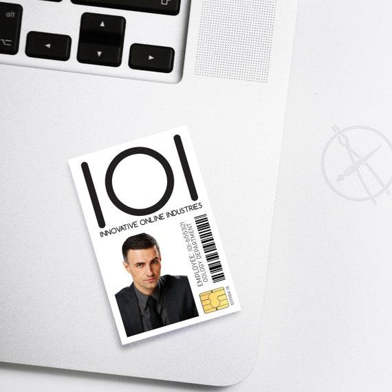 Very Dour Dynamics Custom Cosplay ID Card