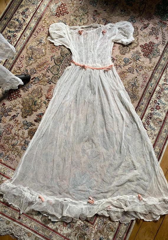 Authentic bridesmaid dress 1920