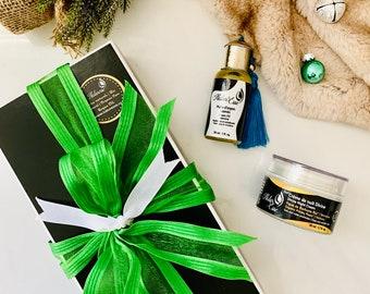 Supreme Night Care Box,Gift Christmas,Argan Oil,Verveine prickly fig night cream,Gift Box,Argan,Natural Cosmetics, Prickly Seed oil
