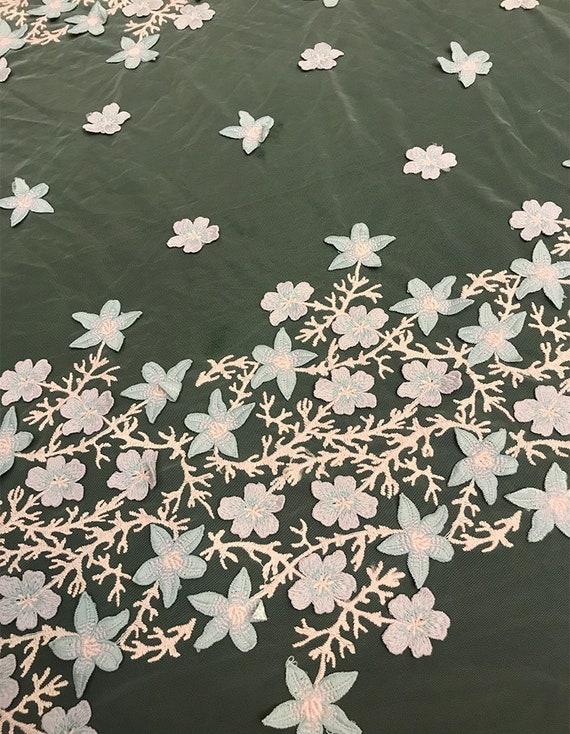 Tissu de dentelle brodé floral la de luxe solide pour la floral robe de bricolage, dentelle de robe de bal, dentelle de mariage, dentelle de robe de 7a4f11