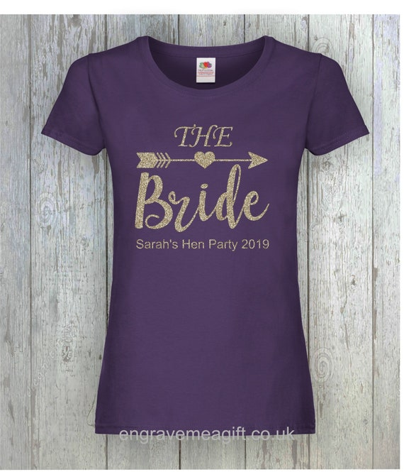 Hen Party  Bride Wedding Married Ladies T-Shirt   Size S-XXL