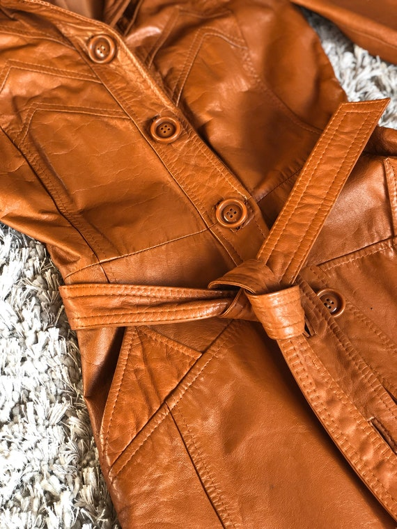 Gorgeous Leather jacket 70s vintage