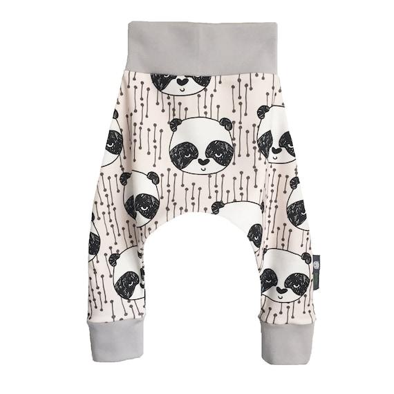 Panda Harem Pantalones Kawaii Harems Chicas Japonesas Tejido Etsy