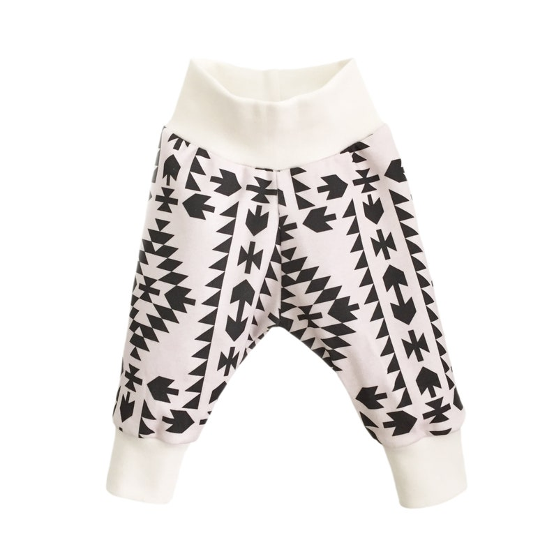 Raccoon Harem Pants Kawaii Harems Japanese girls Organic cotton knit fabric Popluar pants Relaxed Trousers Cute Newborn New Baby outfit Gift