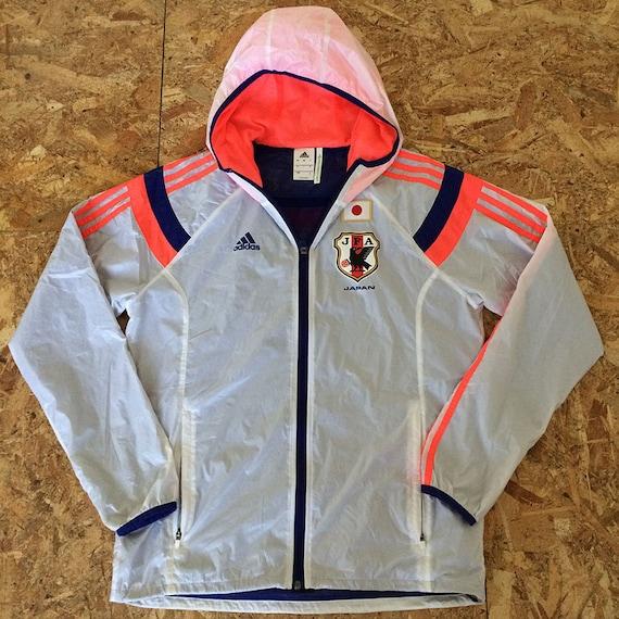 Adidas Vintage Japon monde football Track Top veste taille L