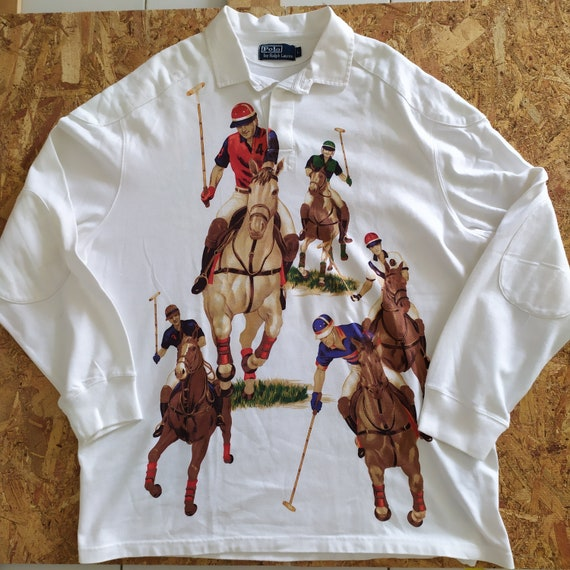 Polo Ralph Lauren FIVE 5 HORSEMEN Equestrian Rugby