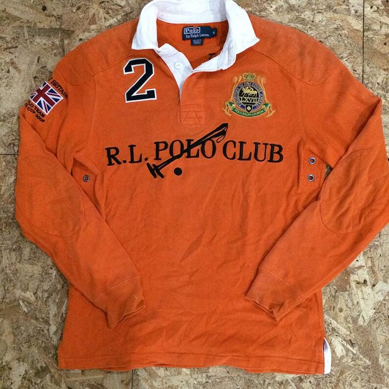 Polo Ralph Club Lauren Shirt Gunz Cory Rl Rugby Vintage VpUqzMS