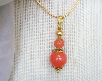 14K Gold & Carnelian Ball 13 mm, 8 mm carved,  Genuine antique Asian carved Carnelian gemstones, with 14k gold plated beads, wire,ring